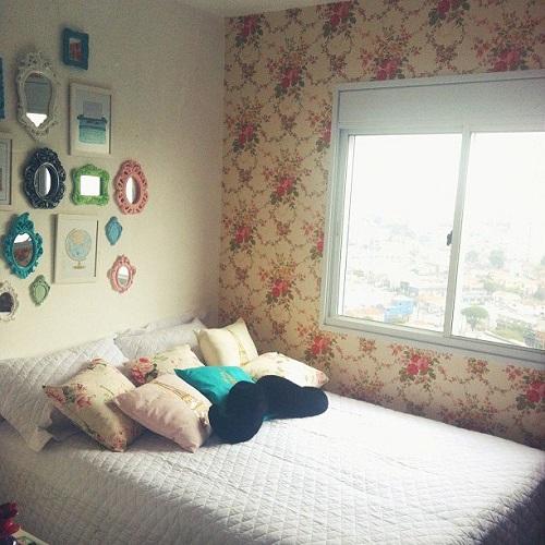 decoração do quarto da Bruna Vieira