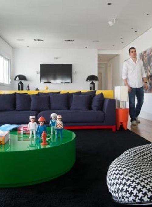 Decorando com brinquedos cantinho das blogueiras for Sala de estar barbie