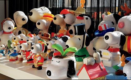 decoração com brinquedos
