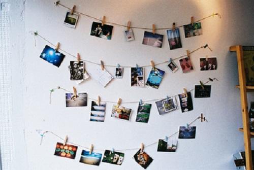 decoração da parede