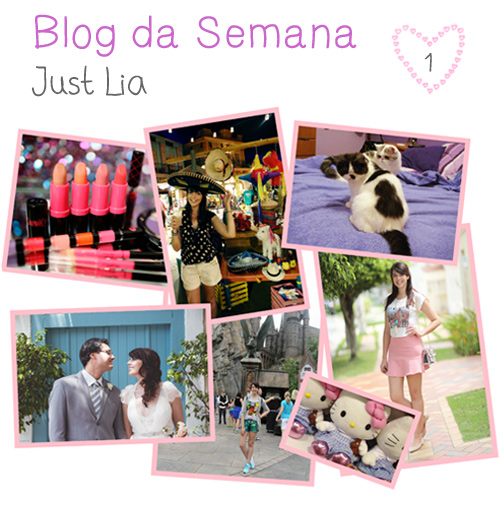 Blog da semana: Just Lia