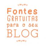 Fontes bonitas e gratuitas para usar no blog