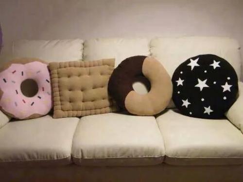 almofadas divertidas