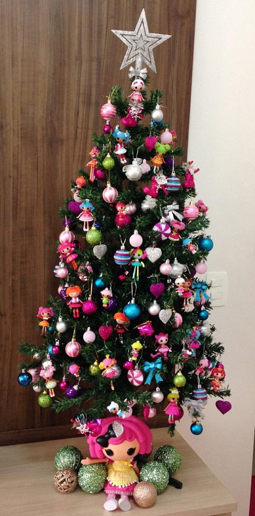 Árvore de Natal - Pink Mess
