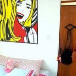 Decorando a parede do seu quarto