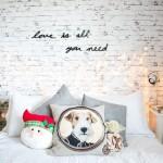 Decoração de natal no quarto – Melina Souza