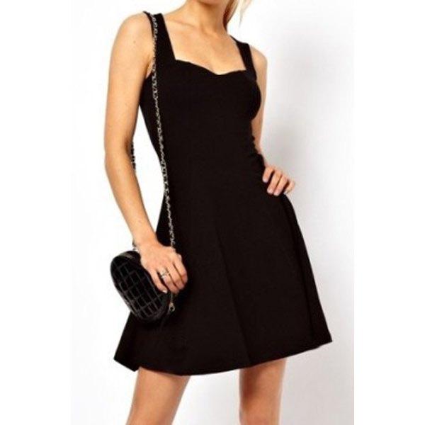 Vestido Preto Curto