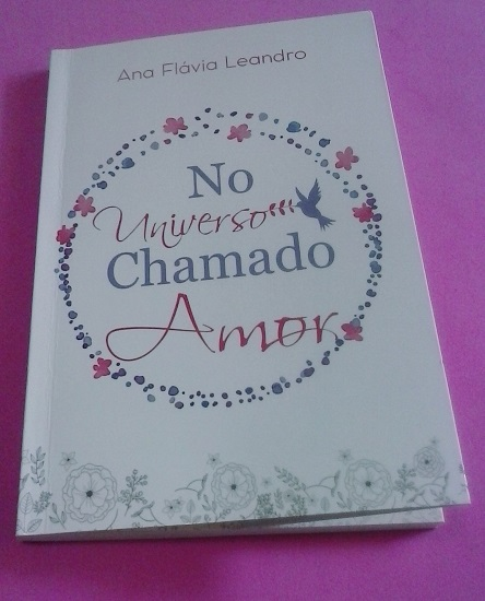 Capa do livro escrito por Ana Flávia Leandro