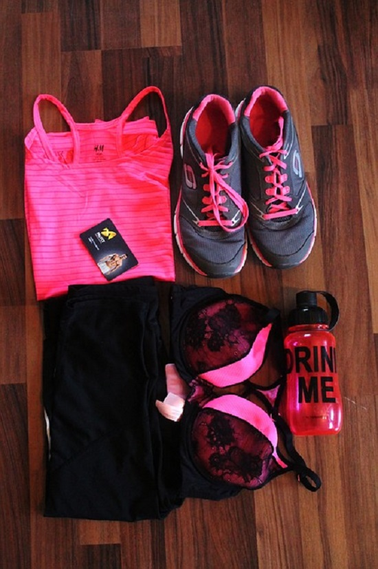 Roupas para exercícios