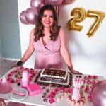 Aniversário na quarentena – Inara Souza