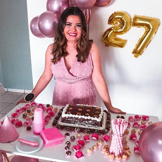 Aniversário na quarentena - Inara Souza