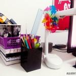 Mesa do Home-Office (Mulher Vitrola)